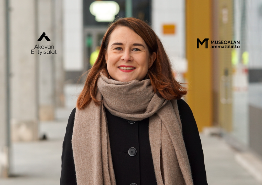 Korjausrakentamisen tutkija Katariina Ruuska-Jauhijärvi työskentelee Kymenlaakson museossa Kotkassa.